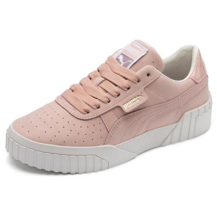 Acheter des chaussures d'origine Puma BASKETS EN CUIR ROSE