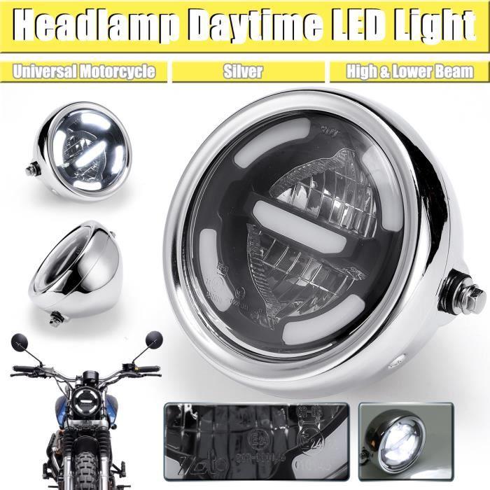 Jour Moto Pour Argent Led Antibrouillard Ampoule Phare Projecteur Feux Lumière Lampe Universel rCWxBedo