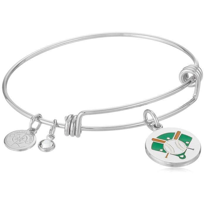 Baseball Bangle Bracelet O9PY6
