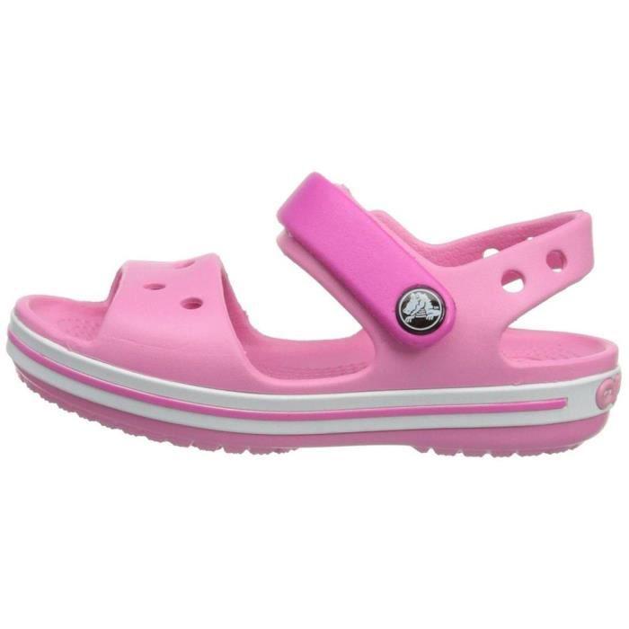 sandales / nu pieds crocband sandal kids filles crocs 12856 f