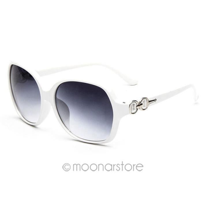 Femmes Mode Protège Cadre lunettes de soleil UV Aviator Lunettes vin