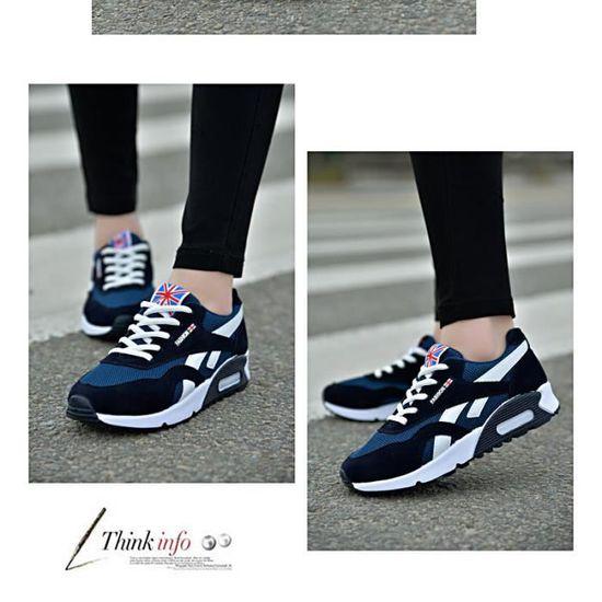 Chaussure de sport à femme Classique Respirant résistantes à sport l'usure Confortable Sneakers HISPORTER Noir Noir - Achat / Vente basket 22de9a