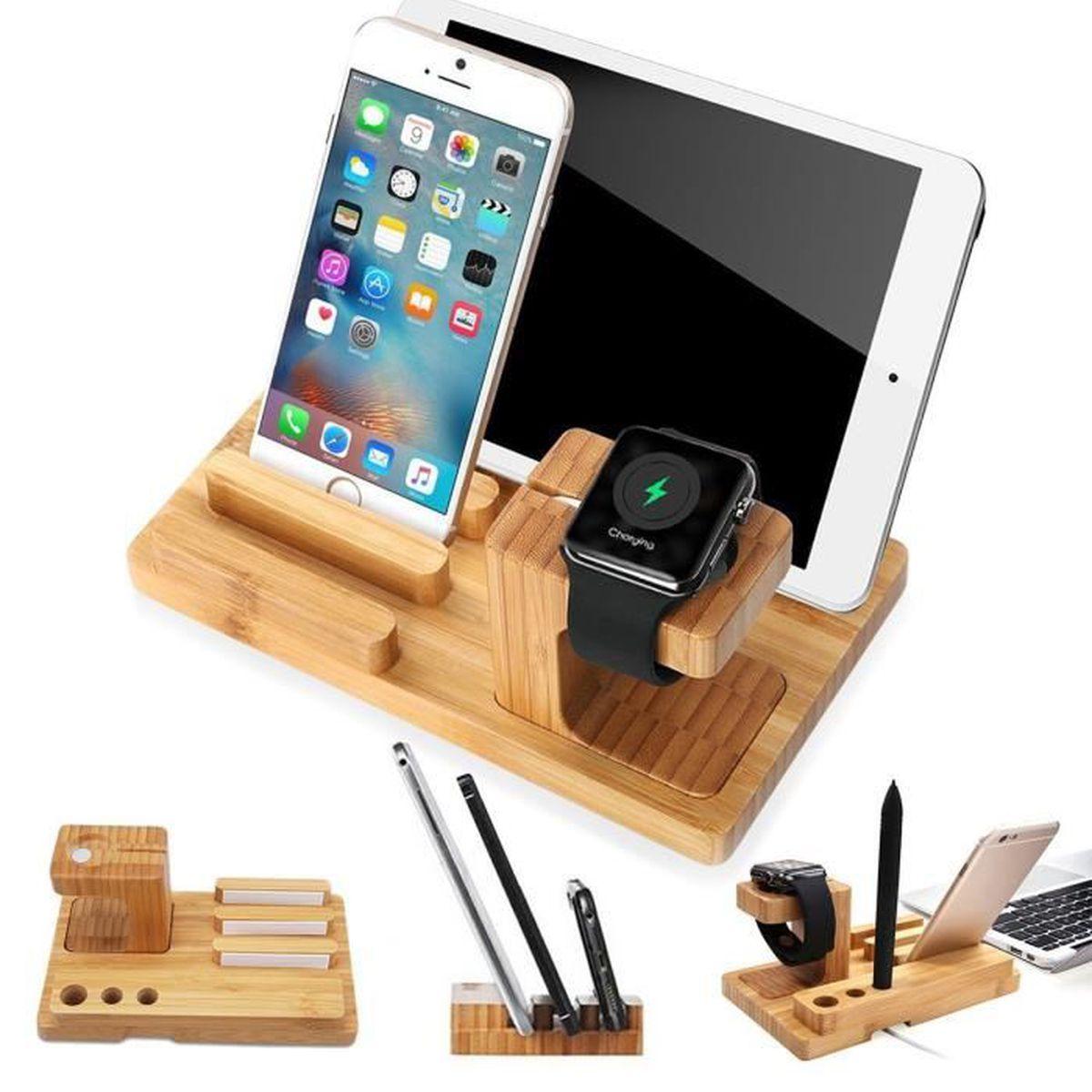 apple suivre support de charge dock station support desk. Black Bedroom Furniture Sets. Home Design Ideas