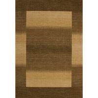 tapis fait main 120 x 170 marron lalee gabbeh achat vente tapis soldes d s le 9 janvier. Black Bedroom Furniture Sets. Home Design Ideas