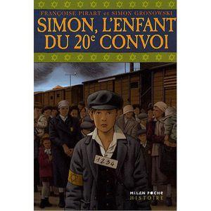 Livre 9 -12 ANS Simon, l'enfant du 20e convoi