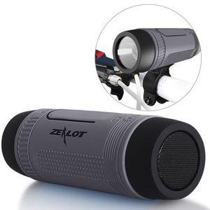 CASQUE - ÉCOUTEURS Aihontai Enceintes Bluetooth ZEALOT S1 Haut-parleu
