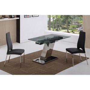 TABLE À MANGER SEULE Table de repas Design extensible AZZURA