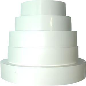 ACCESSOIRE DE GAINE Réduction de ventilation universelle en PVC