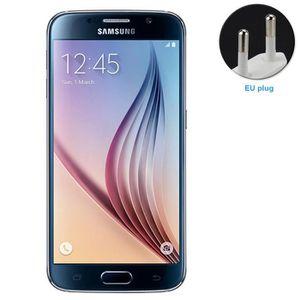 TELEPHONE PORTABLE RECONDITIONNÉ Samsung Galaxy S6 Noir 32Go Reconditionné Téléphon