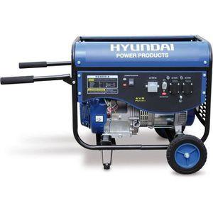 GROUPE ÉLECTROGÈNE HYUNDAI Groupe Electrogène de Chantier 4500W HG400