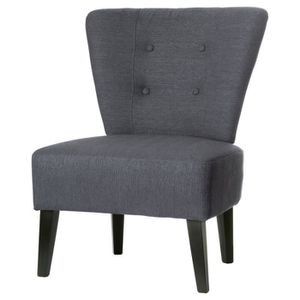 FAUTEUIL FAUTEUIL BRIGHTON GRIS ANTHRACITE