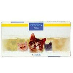COMPLÉMENT ALIMENTAIRE Pet-Phos Felin - Boite de 24 comprimés