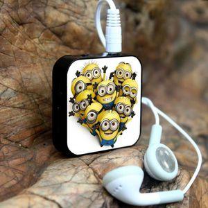 MP3 ENFANT Cartoon Fitness Mini lecteur MP3 + USB avec écoute