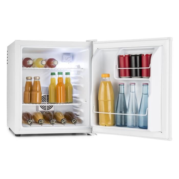 klarstein hea-8 mini réfrigérateur encastrable minibar (capacité de