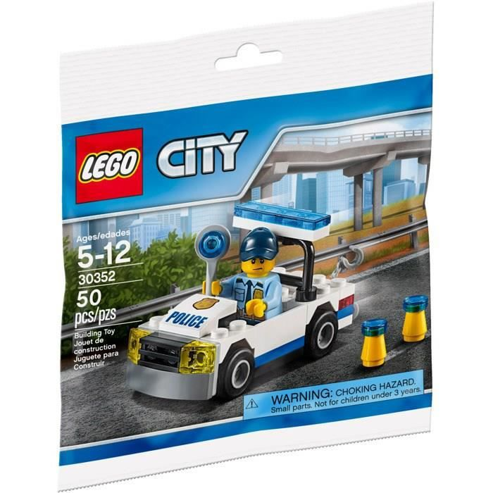 lego city 30352 polybag voiture de police achat vente assemblage construction cdiscount. Black Bedroom Furniture Sets. Home Design Ideas