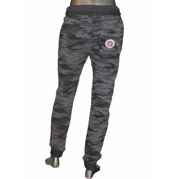 sweet pants pantalon de jogging slim print camouflage noir black adulte mixte sweet pants noir. Black Bedroom Furniture Sets. Home Design Ideas