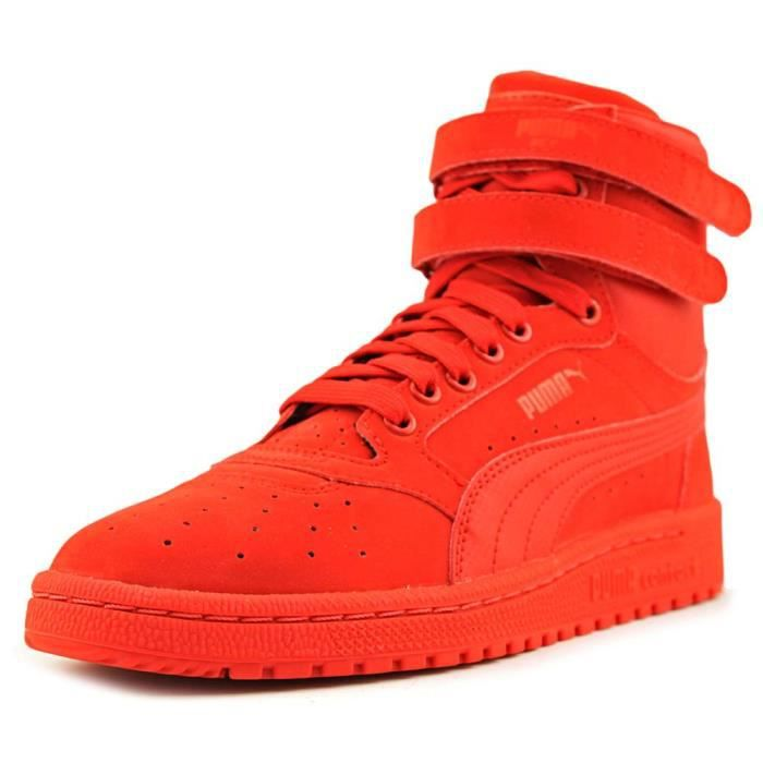 Achat Rouge Puma Sky Synthétique Ii Hi Baskets Vente D2WHE9IY