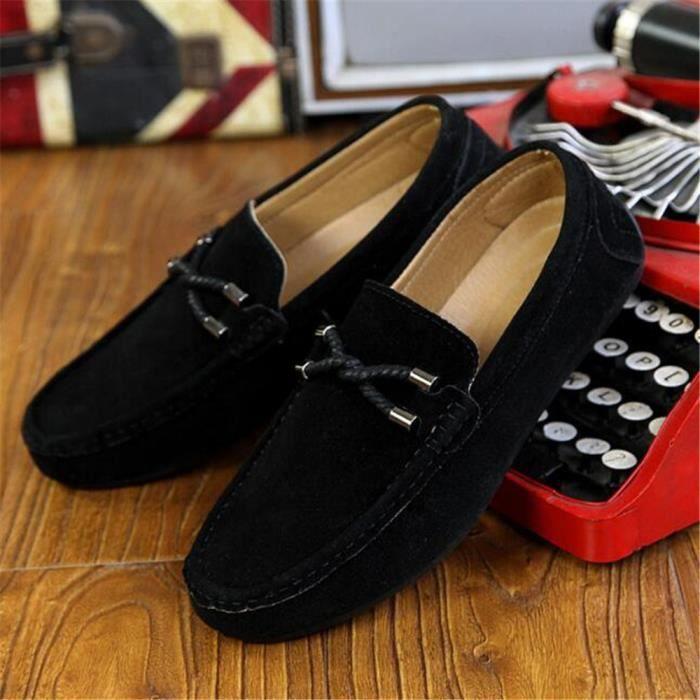 mode Respirant Marque Moccasin homme Haut ete Nouvelle De chaussures 2017 Luxe Mode chaussure qualité En Grande Cuir n0q8xzU7