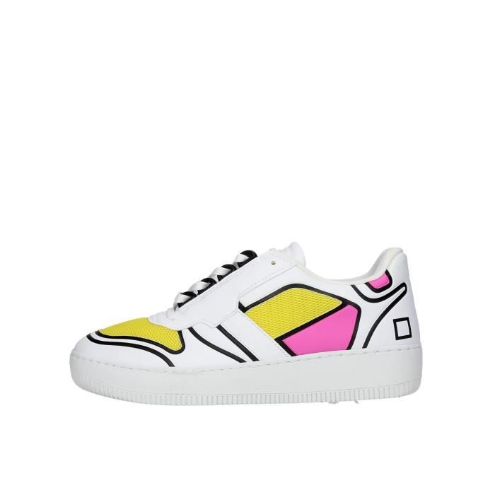 D.a.t.e. Sneakers Femme Blanc, 38