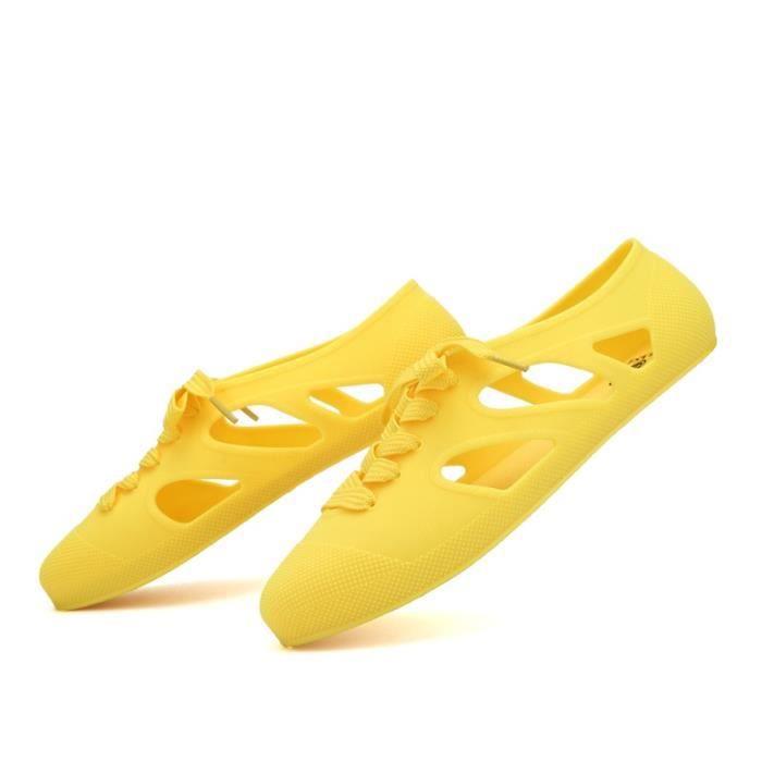 Belle couleur unie de femmes Derbies Sandales PhCT5orrJ