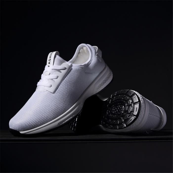Basket Femme Haut Qualité Chaussures Plus De Couleur Poids LéGer Chaussures Respirant 39-44 SEHx45sG3
