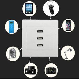 prise electrique usb murale achat vente prise electrique usb murale pas cher cdiscount. Black Bedroom Furniture Sets. Home Design Ideas