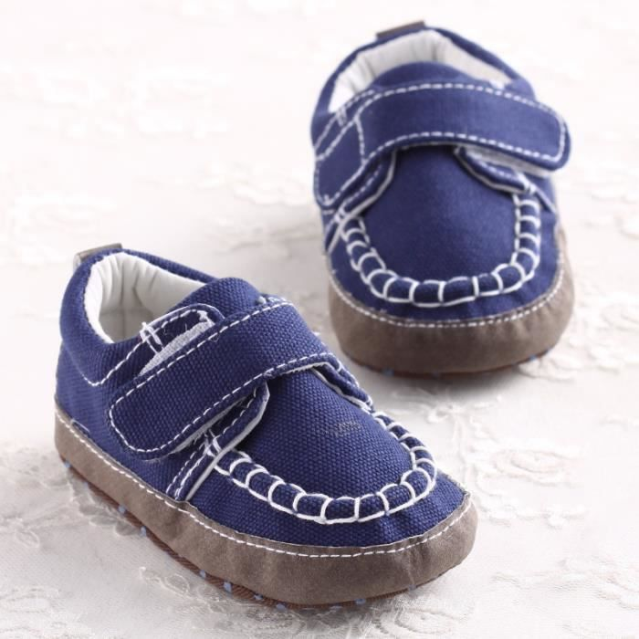 hiver Loisirs de Automne Nouveau bas coton en Bleu Fond Chaussures et en Chaussures âge bébé Bébé mou q4nw8