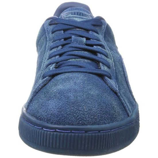finest selection ee75e d8817 PUMA Suede Classic Distressed hommes Baskets bas-top BXYDP Taille-39