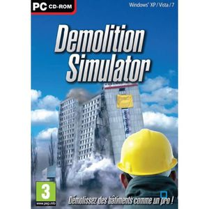 JEU PC DEMOLITION SIMULATOR / Jeu PC