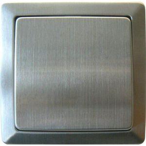 VOLTMAN Interrupteur Poussoir métal connexion rapide série Samba