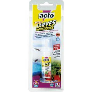 RAQUETTE ÉLECTRIQUE ACTO - Anti moustiques larvicide spécial larves de