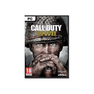 JEU PC Call of Duty World War II Win DVD allemand