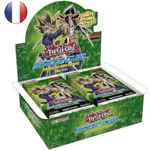 CARTE A COLLECTIONNER Yu-Gi-Oh! Boite de 36 Boosters - Speed Duel : L'Ar