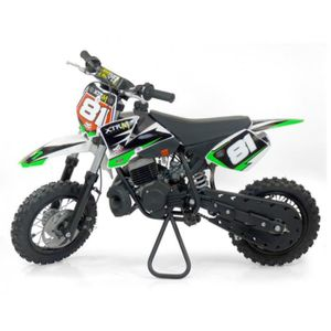MOTO PIT BIKE 50cc - Vert - sans montage et mise en rou