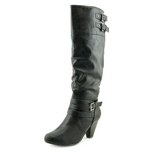 Rampage Womens Edsel Almond Toe Knee High Fashion Boots K7Y19 Taille-37 1-2 bqP23