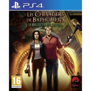 JEU PS4 Broken Sword 5 The Serpent's Curse (Uk Import)
