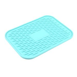 SOUS-VERRE - BOUTEILLE  Silicone Rectangle Honeycomb Pattern Cup Hot Pot P