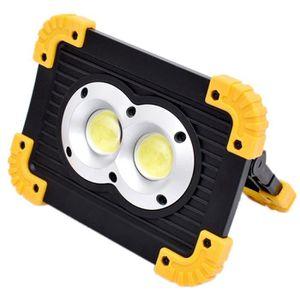 LAMPE - LANTERNE Projecteur LED Portable 20W Torche Lampe Câble USB