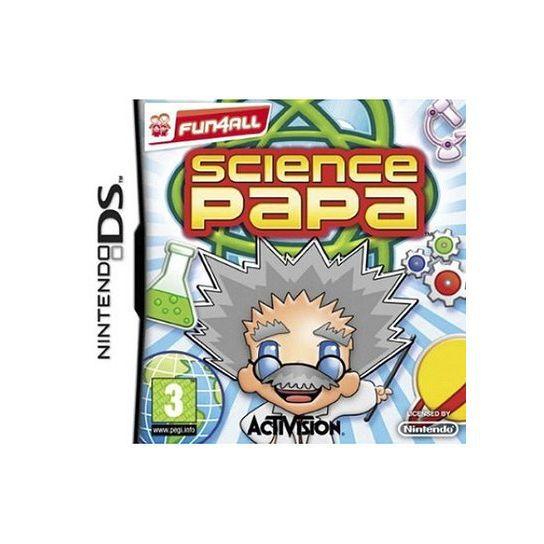JEU DS - DSI SCIENCE PAPA / jeu console DS