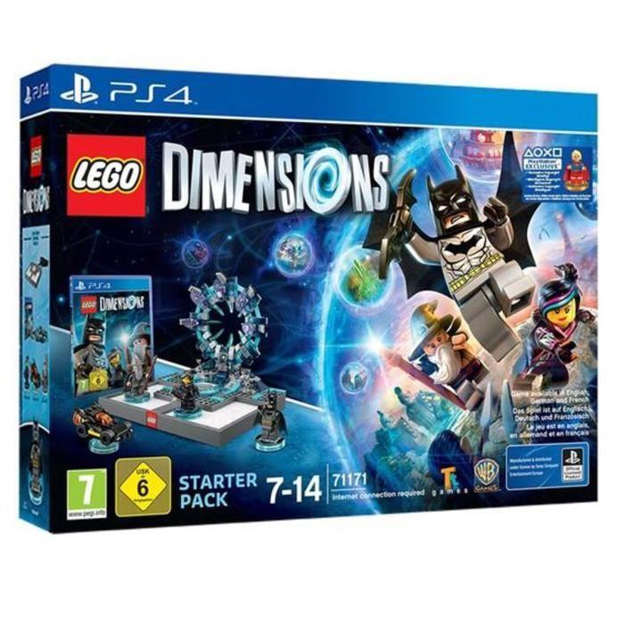 JEU PS4 LEGO Dimensions - Pack de Démarrage PS4 + Supergir