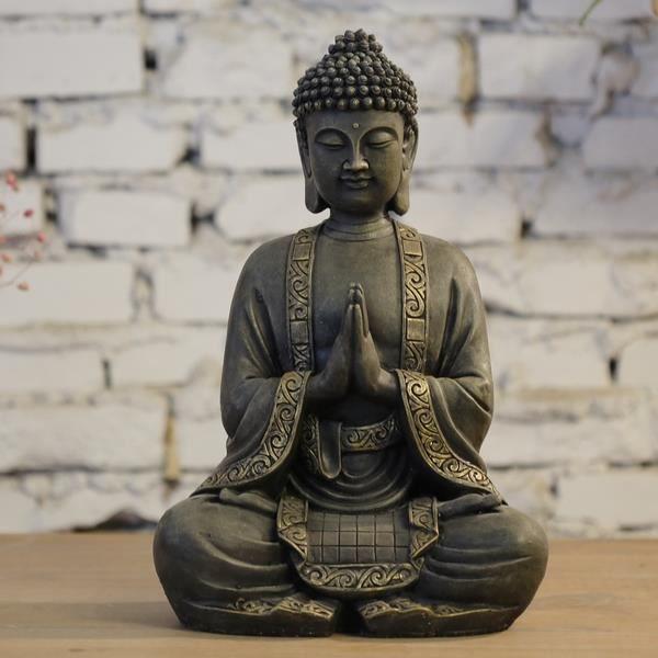 statue bouddha interieur achat vente pas cher. Black Bedroom Furniture Sets. Home Design Ideas