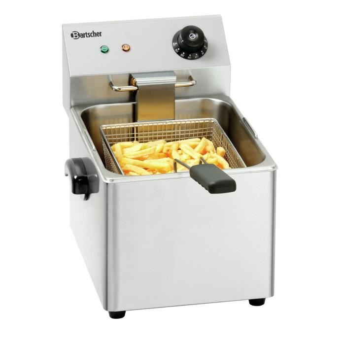 "FRITEUSE ELECTRIQUE Friteuse Inox 8 Litres ""SNACK III"""