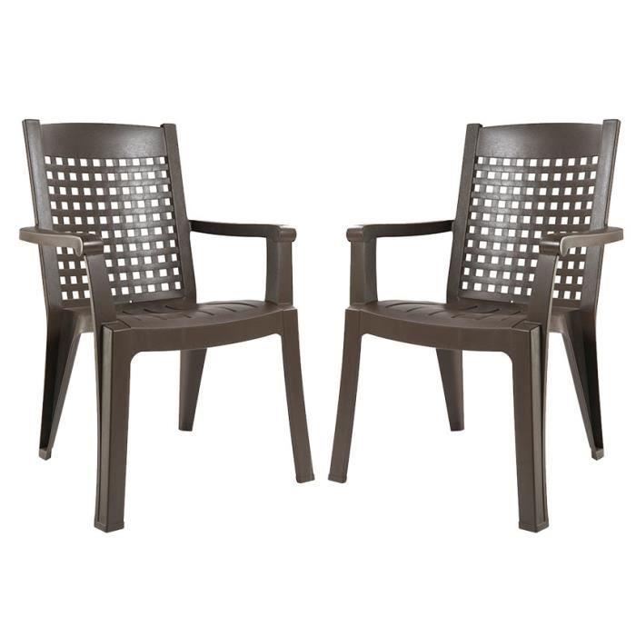 Chaise de jardin grosfillex - Achat / Vente pas cher