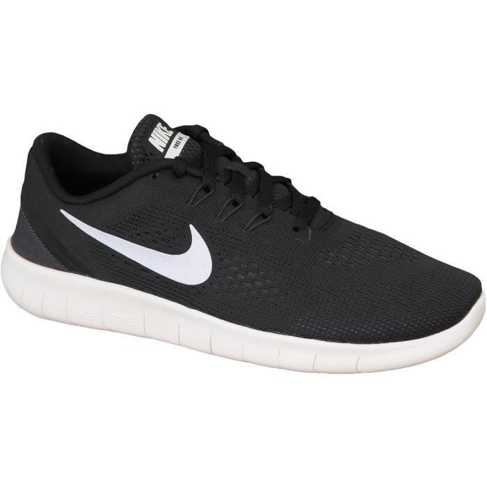 super populaire a7baf 71177 Nike Free RN GS 833989-001 Femme Baskets Noir Noir - Achat ...