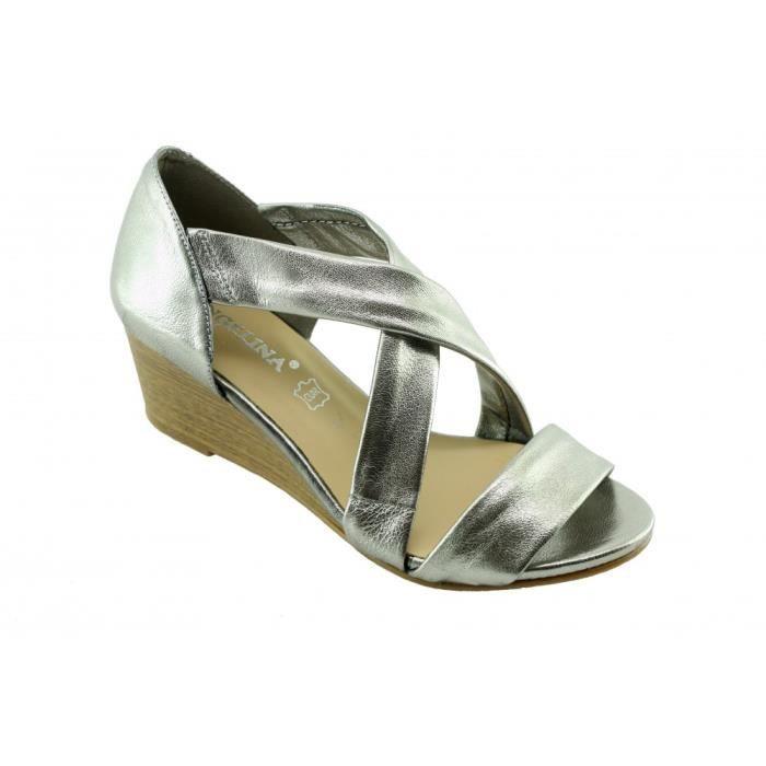 2d24e474785683 SANDALE - NU-PIEDS Scarlette - Chaussures femme sandales souple et co