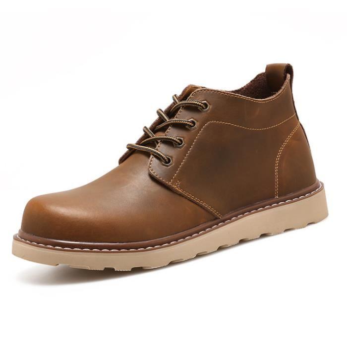 Sneaker Mode RéSistantes à L'Usure Chaussures Pour Hommes Meilleure Qualité Chaussures de loisirs Antidérapant Grande