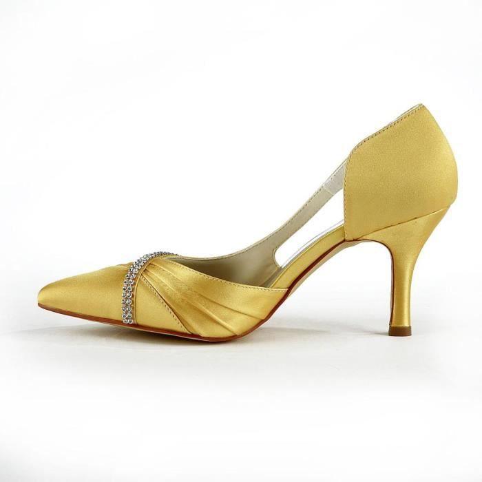 Jia Jia Wedding A317 chaussures de mariée mariage Escarpins pour femme