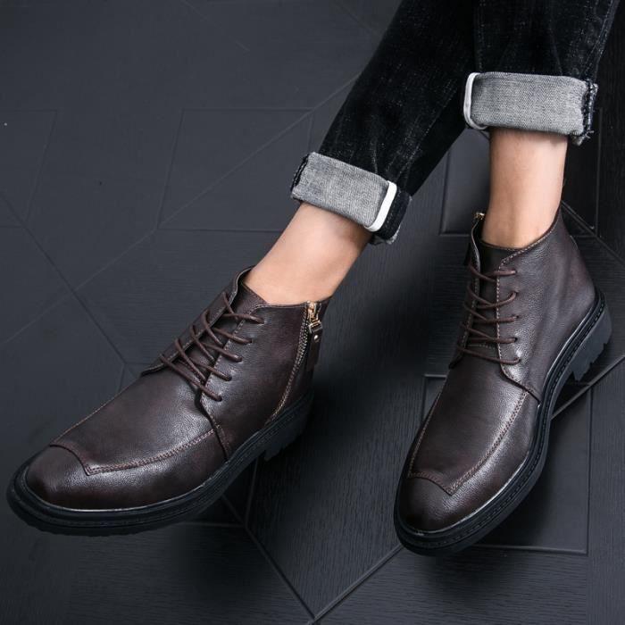 Mocassins homme Mocassins loisir Mocassins hiver Mocassins avec coton Mocassins à la mains Chaussures de villeChaussures dehors