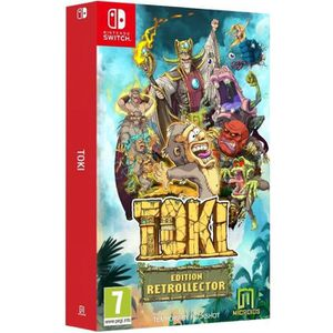 JEU NINTENDO SWITCH TOKI Édition Collector Jeu Switch