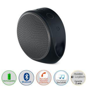 ENCEINTE NOMADE LOGITECH X100 Enceinte Bluetooth Gris/Noir